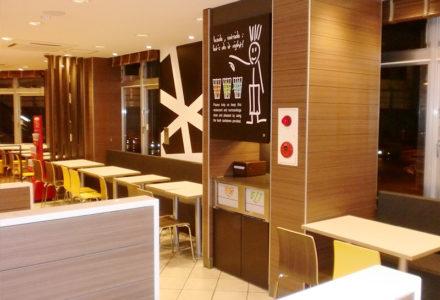 マクドナルド新横浜駅前店 客席2