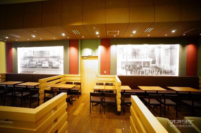 某ドーナツ店 名古屋市 内装3