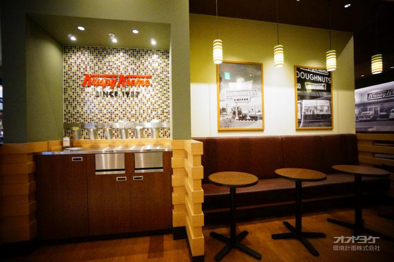 某ドーナツ店 名古屋市 内装2