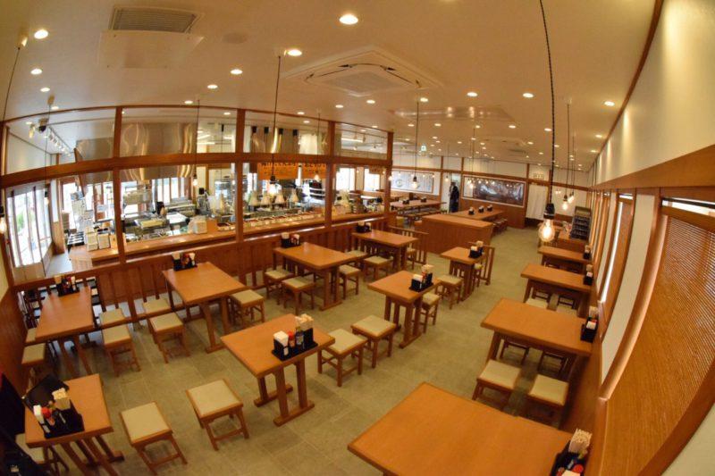 丸亀製麺 大宮西店 客席2