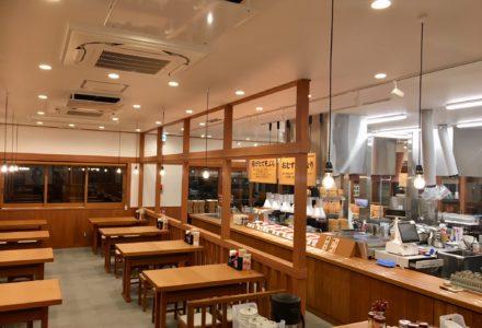 丸亀製麺 厚木店 客席