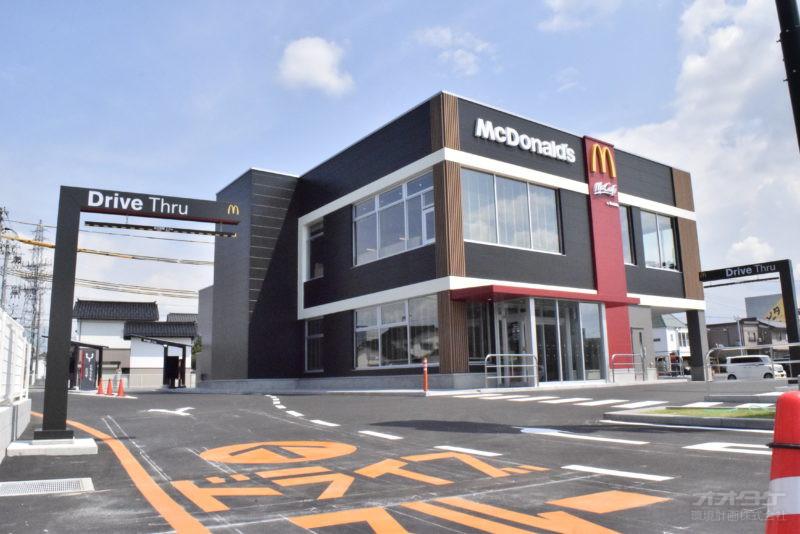 マクドナルド富山インター店